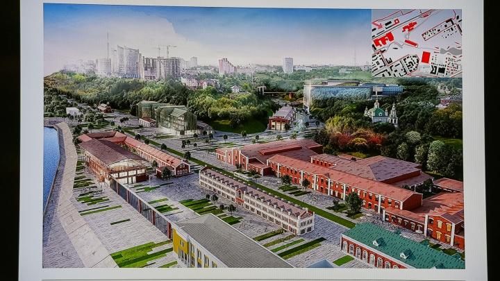 «Сырой проект». На градсовете подняли вопрос о подтоплении территории завода Шпагина