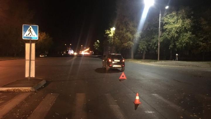 Водитель «Опеля» сбил ребёнка на пешеходном переходе в Ленинском районе