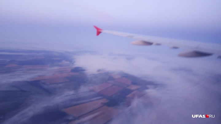 Из-за тумана авиарейсы в Уфу отправляют в Казань