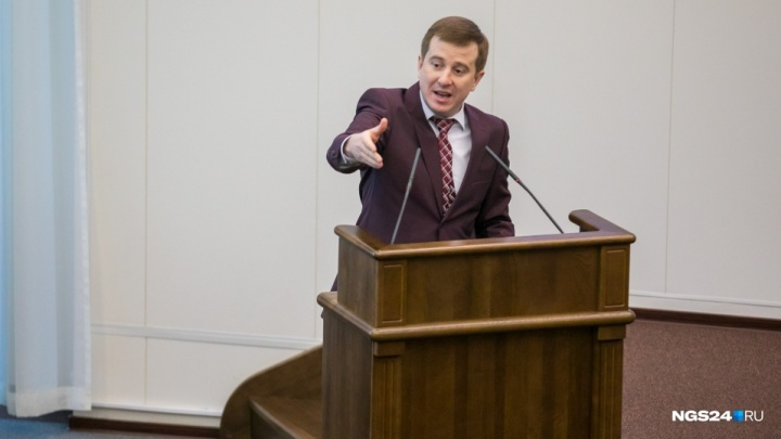 Красноярскому мини-Жириновскому предложили запретить выступать перед депутатами из-за скандальности