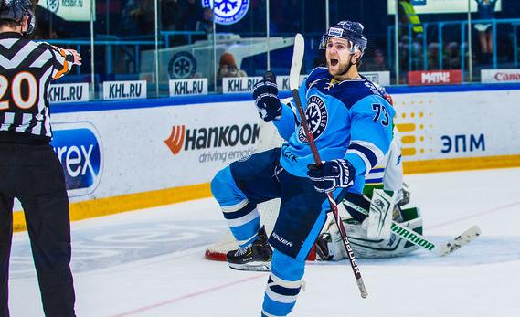 Первая победа в новом году: хоккейная «Сибирь» обыграла «Салават Юлаев»
