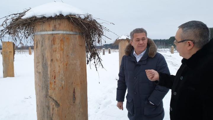 Радий Хабиров извинился перед жителями районов, до которых он так и не доехал