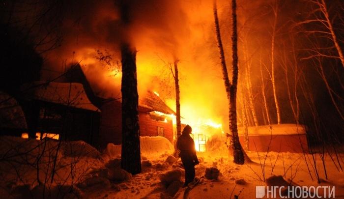 В 2017 году в огне погибло 40 новосибирцев