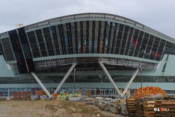 На фасаде конгресс-холла будет транслироваться картинкана уровне HD-телевизора