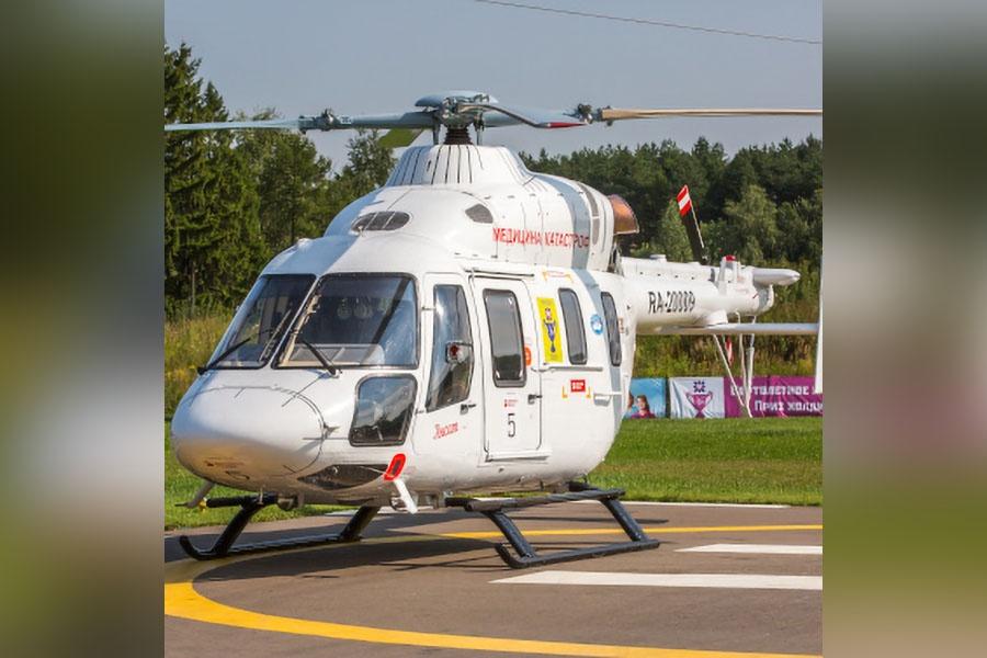 Вертолёт Челябинской области готова предоставить московская компания