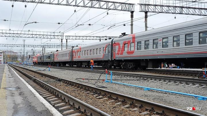 В районе Пермяковского моста поезд переехал молодого мужчину