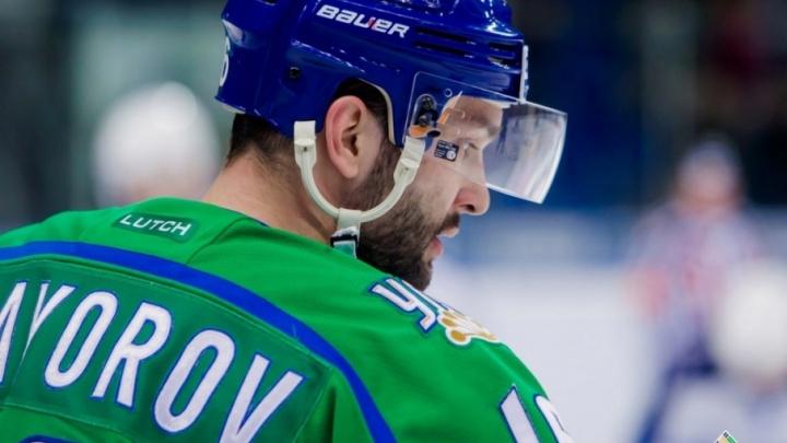 Бомбардир «Салавата Юлаева» продлил контракт с командой