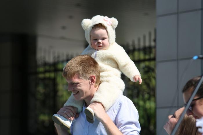 На юбилее зоопарка собрались горожане всех возрастов