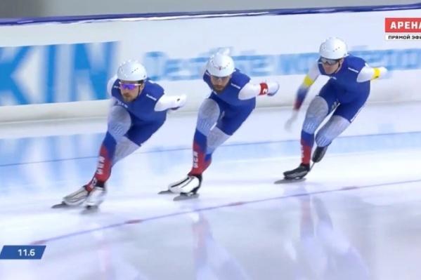 Александр Румянцев завоевал медаль в заключительный день чемпионата