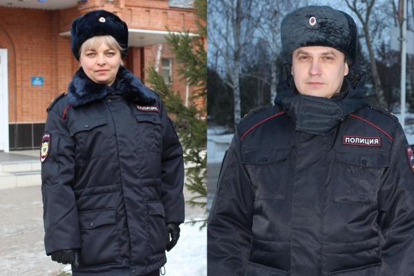 Женщина выразила благодарность канским полицейским — МихаилуСуханову и Екатерине Бабовкиной