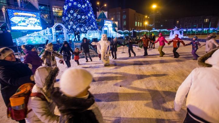 Новосибирцам разрешат шуметь в новогоднюю ночь на час дольше