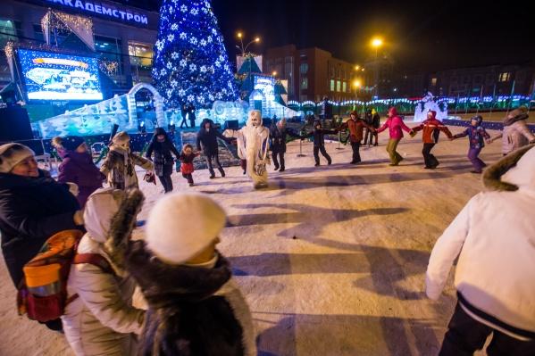 В ночь с 31 декабря 2018 года на 1 января 2019 года новосибирцам разрешат шуметь на час дольше
