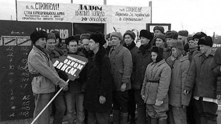 Магнитка стала частью «Живой Победы»: горожане воссоздали кадр 1943 года