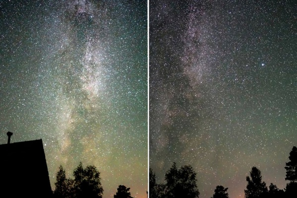 Созвездия Лебедь и Лира