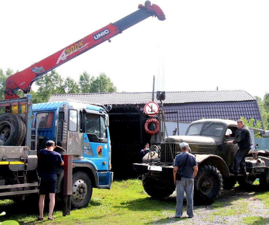 ВКемерове мужчина лишился военного грузового автомобиля из-за нелегально построенного гаража