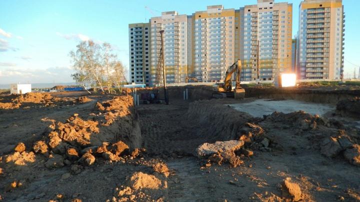 В «Солнечном» начали строить долгожданную школу