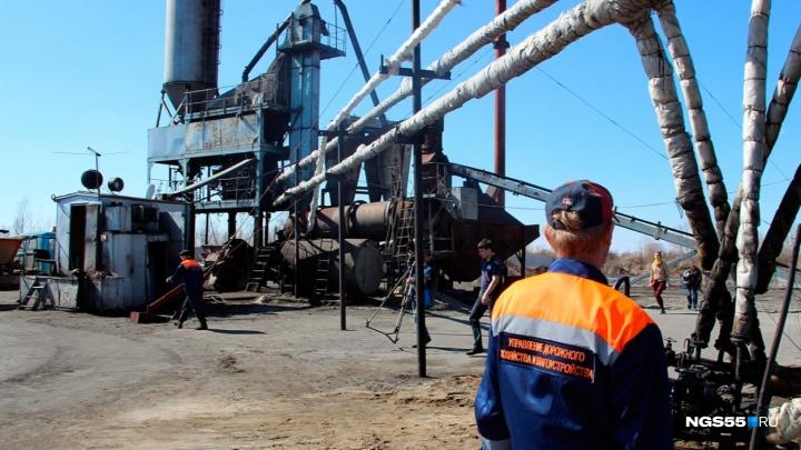 Асфальтовый завод, который сильно загрязнял воздух в Нефтяниках, переведут на газ