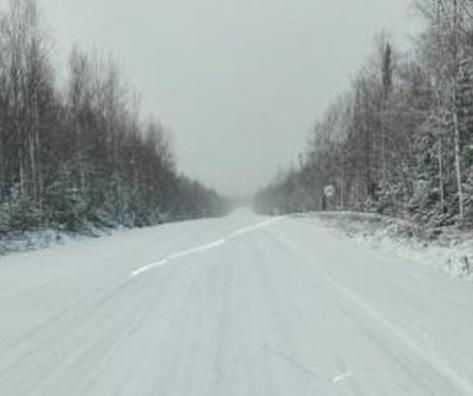 Трассы под Красноярском завалило снегом