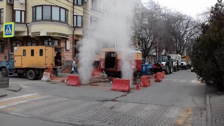 В центре Ростова тысячи жителей остались без тепла