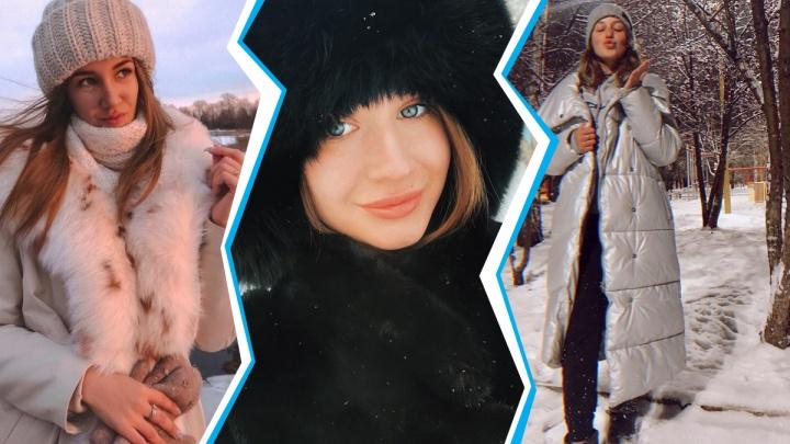 Укутанные красавицы: выбираем лучший зимний наряд среди красноярских девушек
