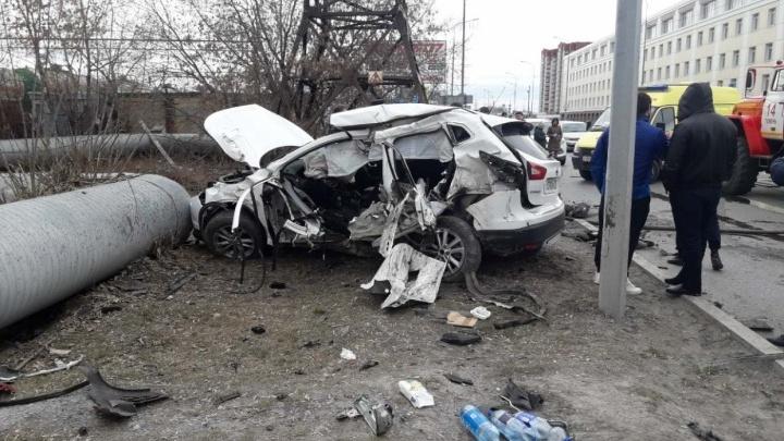 Тюменский бизнесмен устроил аварию на 50 лет ВЛКСМ с участием шести машин. Но дело закрыли. Почему?