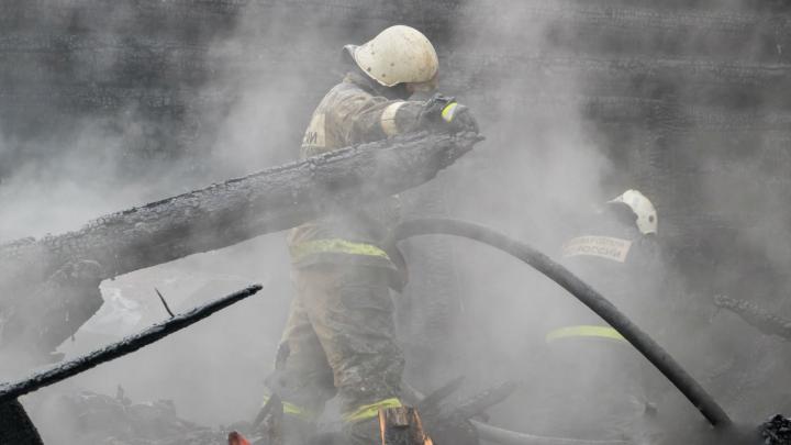 В Прикамье на пожаре погибли мать и трое маленьких детей
