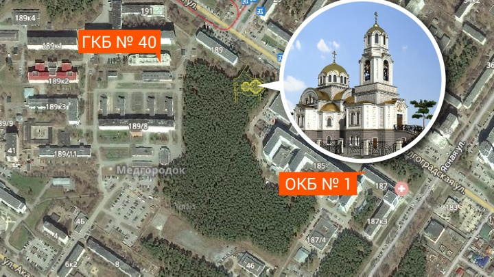 Между «областной» и «сороковой» построят храм для пациентов: 20 лет они молились в коридоре