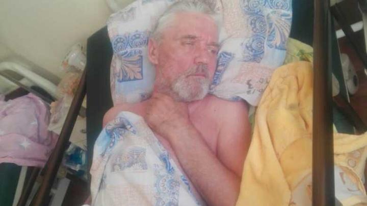 «К нему никто не приходит в больницу»: в Уфе ищут родных Николая Чернова