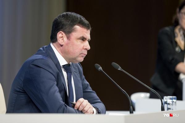 Дмитрий Миронов сменил в 2016 году на посту губернатора Ярославской области Сергея Ястребова