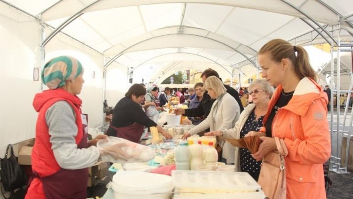 Самарские сельхозярмарки переведут под арочные шатры