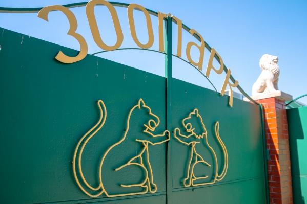 Сейчас зоопарк располагается на улице Ново-Садовой