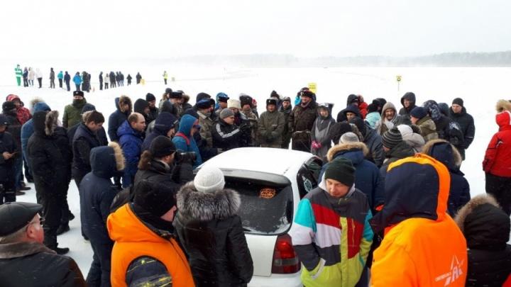 Суд признал незаконным запрет мэрии Верхней Пышмы дрифтовать на льду Балтыма