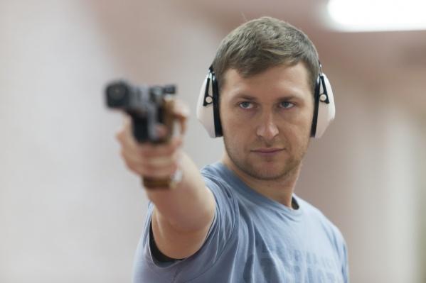Леонид Екимов занимается стрельбой больше двадцати лет
