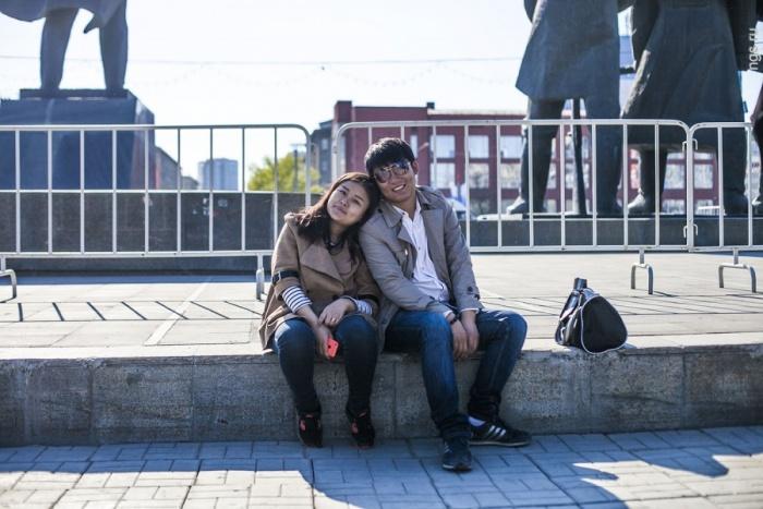 Туристам из Китая интересен и центр города, и Академгородок