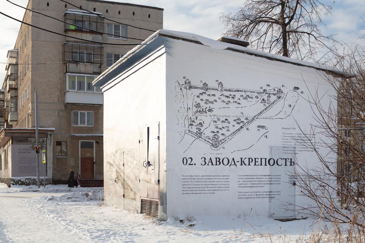 Завод-крепость наперекрёстке улиц Володарского и Победы