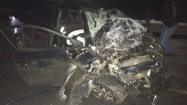 Смертельное ДТП на трассе Тюмень — Ханты-Мансийск: водитель KIA погиб после столкновения с фурой