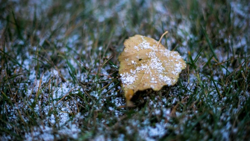 Снег с дождями и гололед идут в Красноярск