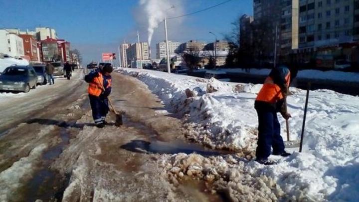 В Уфе мороз оставил пять домов без воды