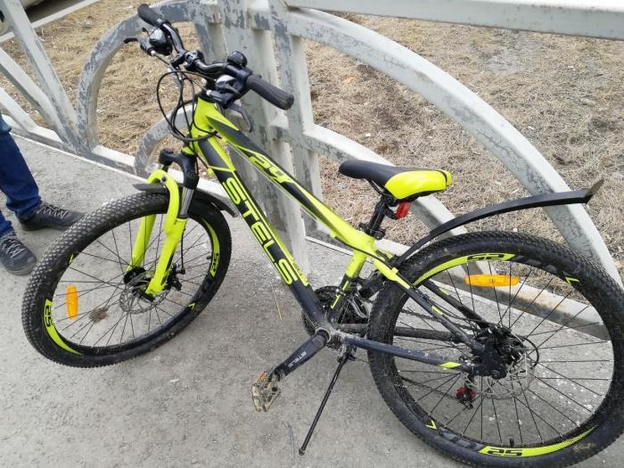 Велосипед пострадавшего ребенка