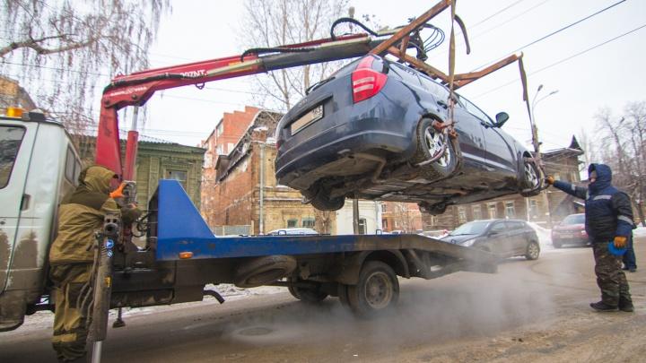 Тарифы на эвакуацию авто вырастут во всех городах и районах области