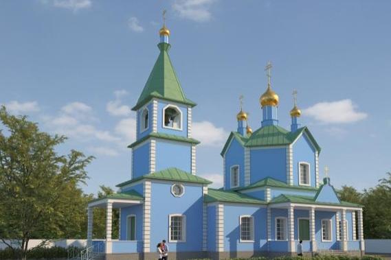 Новый храм будет похож на прежний