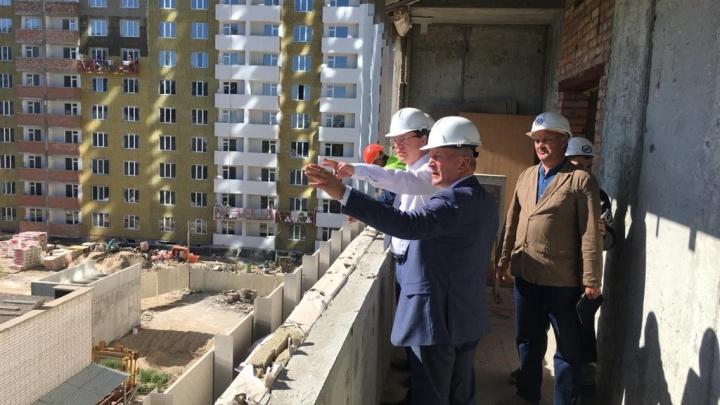 Долгострой отдадут под суд: публикуем эскиз реконструкции «дома правительства» на Крымской площади