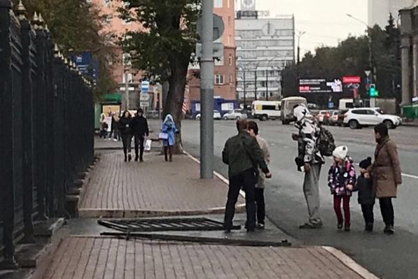Здание правительства Челябинской области лишили парадных ворот