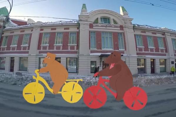 Ролик представили на конкурсе «Зиме дорогу» во времяМеждународного зимнего велоконгресса в Москве