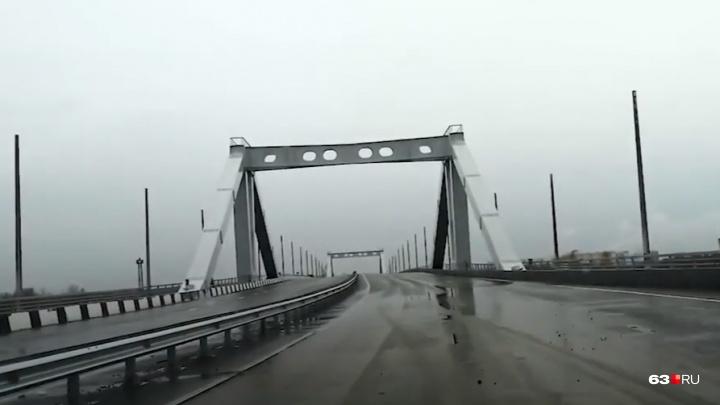 Житель Самары нелегально проехался по Фрунзенскому мосту