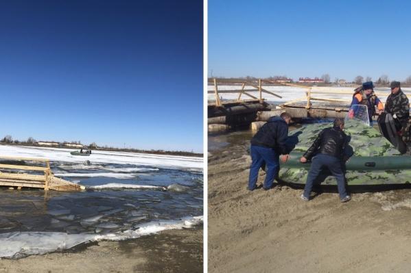 Заложников льда удалось оперативно спасти