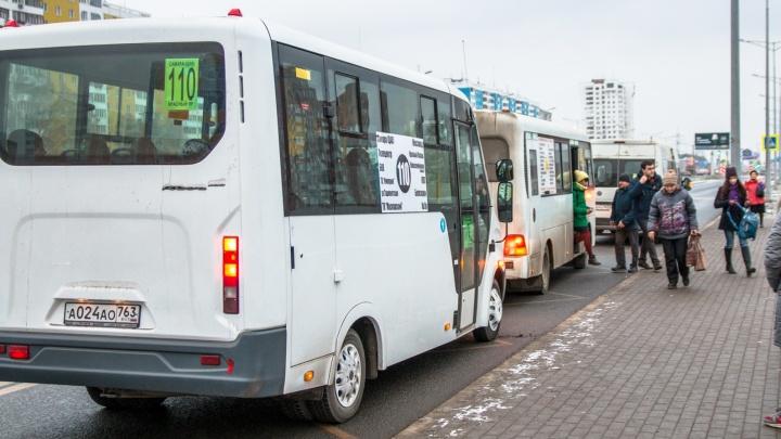 Власти Самары отказались выделять отдельную полосу для автобусов на Московском шоссе