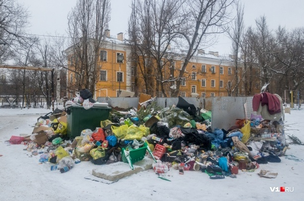 «Он не справляется»: волгоградский «мусорный король» экстренно закупает 648 баков под отходы