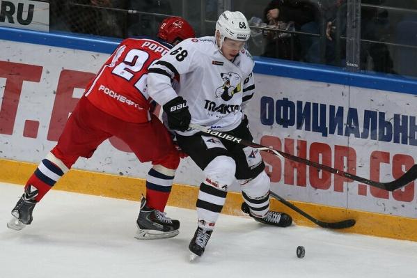 Матч проходил в Москве