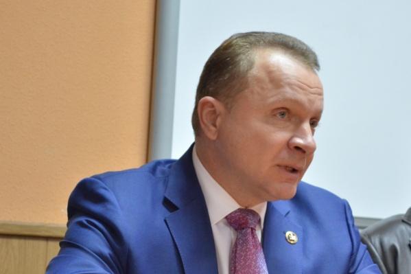 Константин Прокофьев был назначен и. о. ректора КГУ в 2016 году